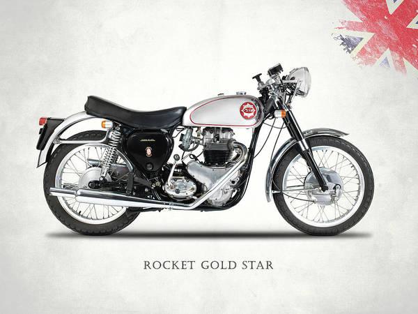 Photograph - Rocket Gold Star by Mark Rogan