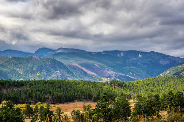 Photograph - Rockies - Clouds by James L Bartlett