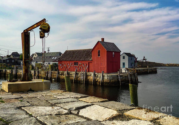 Wall Art - Photograph - Rockport Fish House by Norma Brandsberg