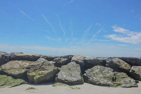 Photograph - Rocks And Rays by Cate Franklyn