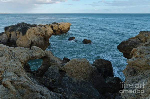 Photograph - Rocks And Sea Near Aveiros Beach by Angelo DeVal