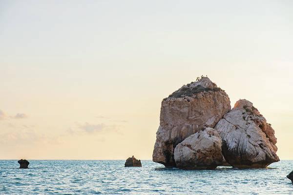 Nature Wall Art - Photograph - Rocks At Aphrodite's Birthplace by Iordanis Pallikaras