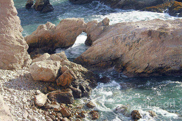 Photograph - Rocks At Montana De Oro by Michael Rock