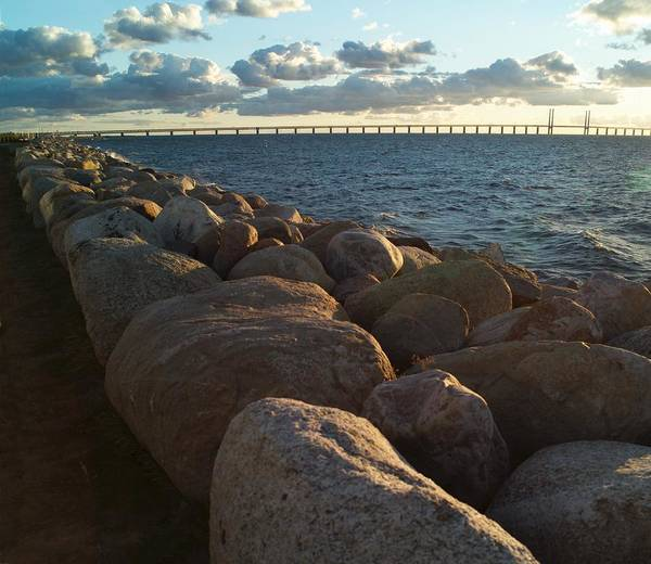 Scandinavian Photograph - Rocks By The Sea At Oresund, The by Peo Quick