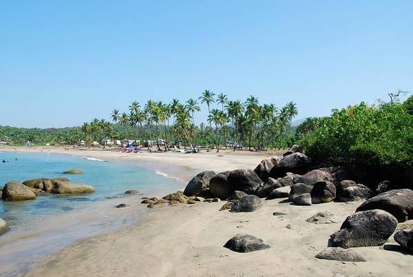 Goa Photograph - Rocks by Cranjam