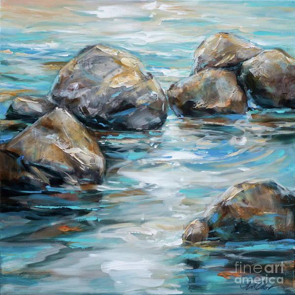 Painting - Rocks II by Linda Olsen