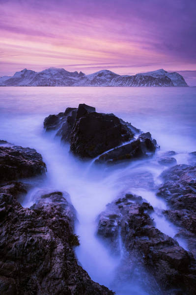 Photograph - Rocks In Fjord by Michael Blanchette