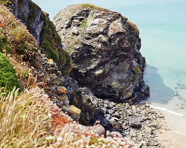 High Water Mark Photograph - Rocks by Mark Leary