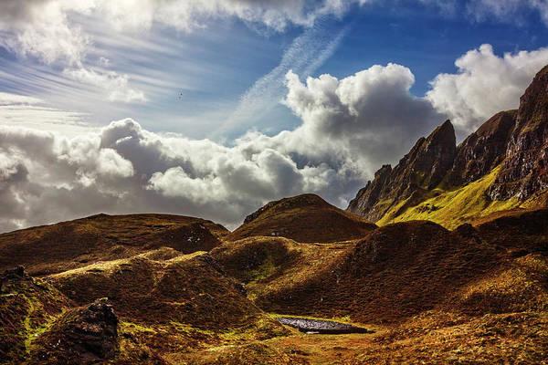 Photograph - Rocky Cliffs Of Scotland by Debra and Dave Vanderlaan