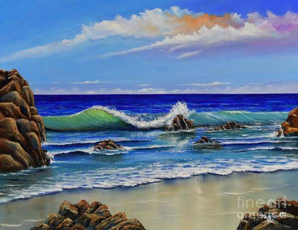 Painting - Rocky Coast by Mary Scott