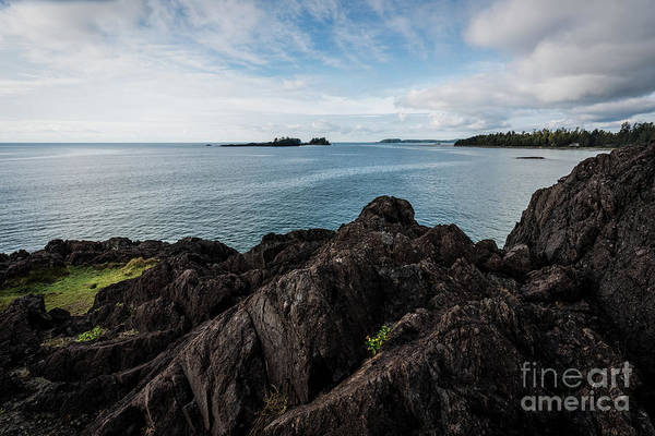 Photograph - Rocky Coastline by Carrie Cole