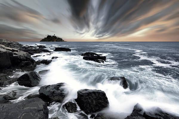 Wall Art - Photograph - Rocky Coastline by Daniel Hagerman