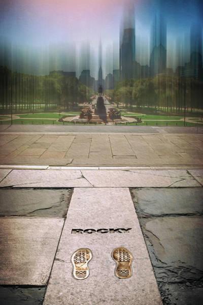 Wall Art - Photograph - Rocky Footprints Philadelphia  by Carol Japp