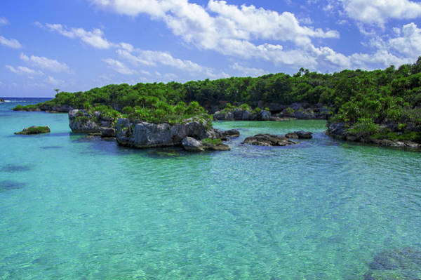 Photograph - Rocky Lagoon Of Xel-ha by Sun Travels