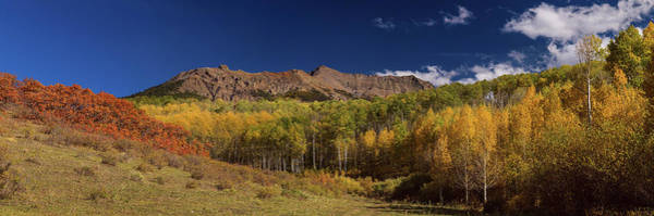 Photograph - Rocky Mountain Autumn Panorama View by James BO Insogna