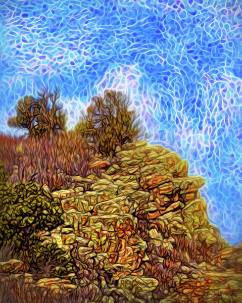 Digital Art - Rocky Mountain Enchantment by Joel Bruce Wallach