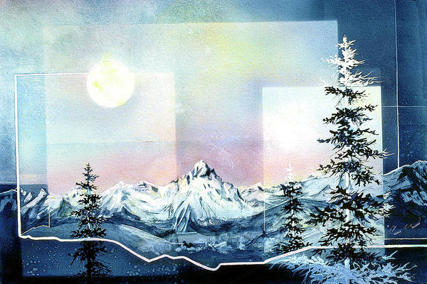 Painting - Rocky Mountain High by Connie Williams