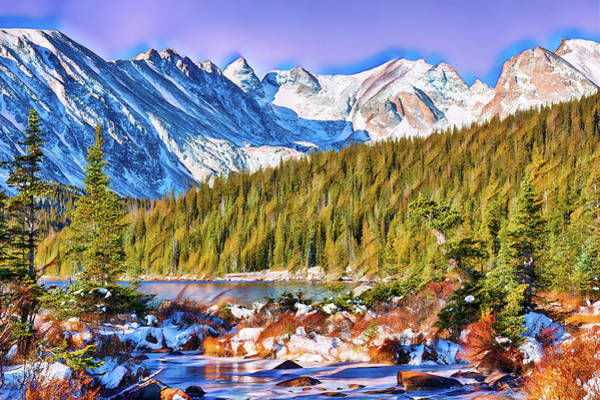 Indian Peaks Wilderness Photograph - Rocky Mountain High by Eric Glaser