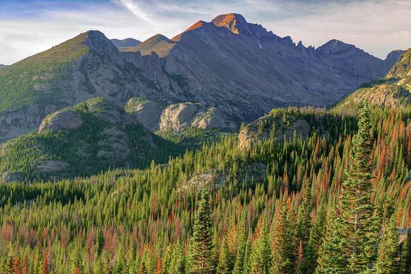 Photograph - Rocky Mountain Morning Landscape - Colorado by Gregory Ballos