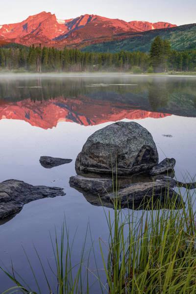 Photograph - Rocky Mountain Morning Landscape - Estes Park Colorado by Gregory Ballos