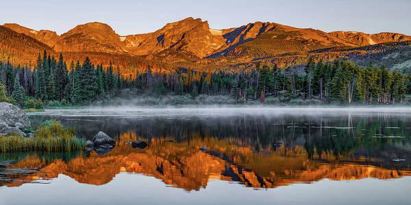 Wall Art - Photograph - Rocky Mountain National Park Morning Panorama by Gregory Ballos