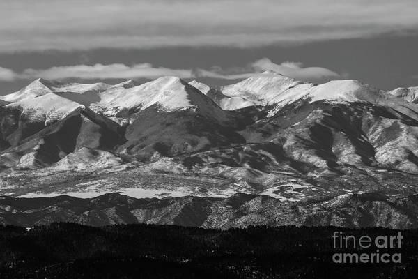 Photograph - Rocky Mountain Winter by Steve Krull