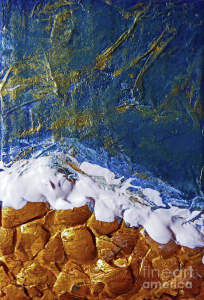 Oregon Coast Mixed Media - Rocky Shore by Sharon Williams Eng