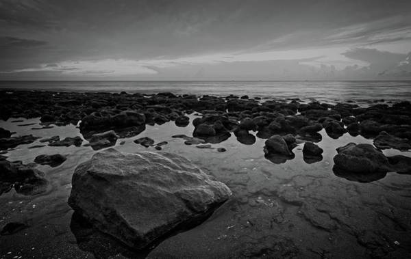 Photograph - Rocky Shore by Steve DaPonte