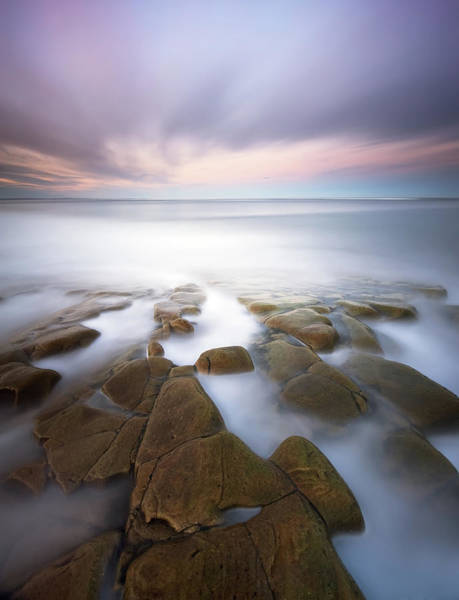 High Water Mark Photograph - Rocky Shoreline by Mark Southgate