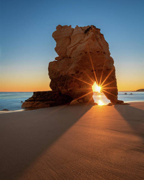 Photograph - Rocky Sunburst - Vertical by Michael Blanchette