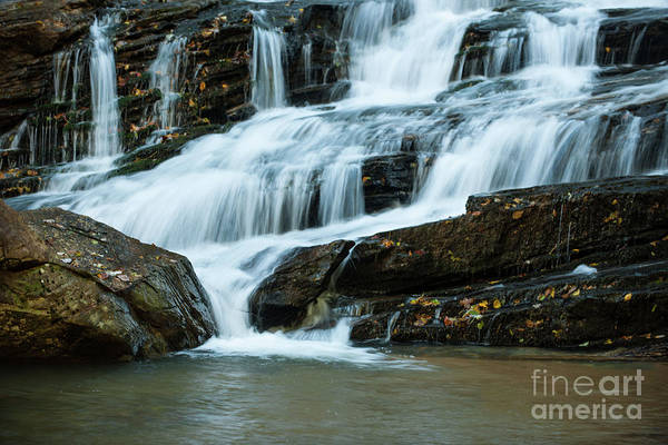Photograph - Rocky Water Fall by Dale Powell