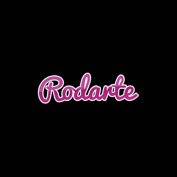 Wall Art - Digital Art - Rodarte #rodarte by TintoDesigns