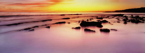Wall Art - Photograph - Rodeo Beach At Sunrise, Golden Gate by Panoramic Images