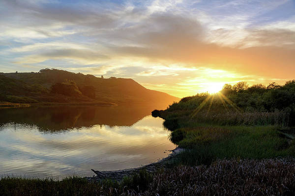 Photograph - Rodeo Lagoon by Janet Kopper