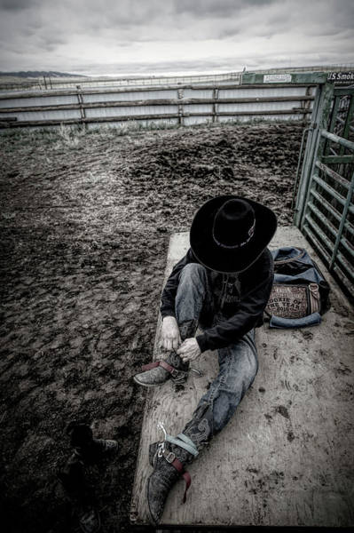 Photograph - Rodeo Rider by Pamela Steege