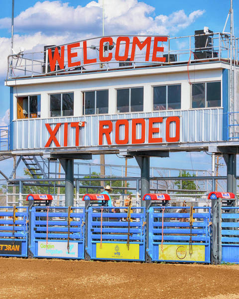 Wall Art - Photograph - Rodeo Time In Texas - #1 by Stephen Stookey