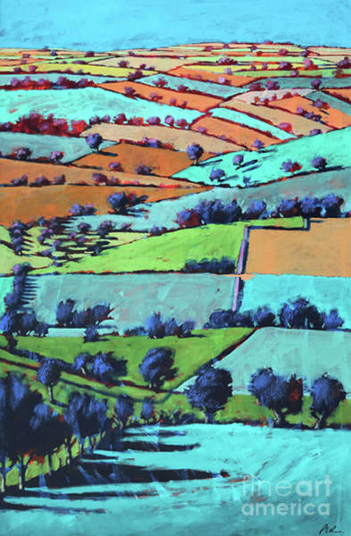Wall Art - Painting - Rodge Hill by Paul Powis