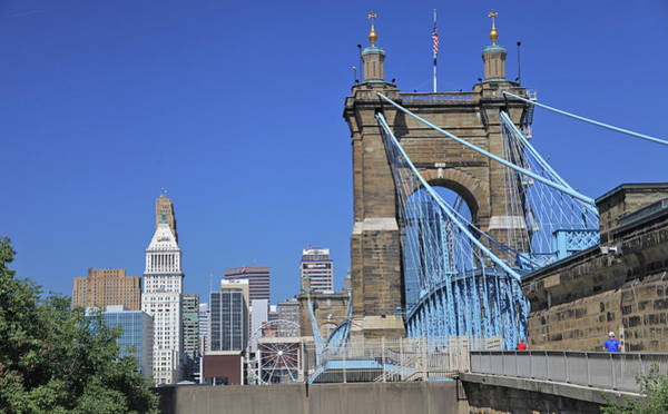 Photograph - Roebling Bridge by Gary Kaylor