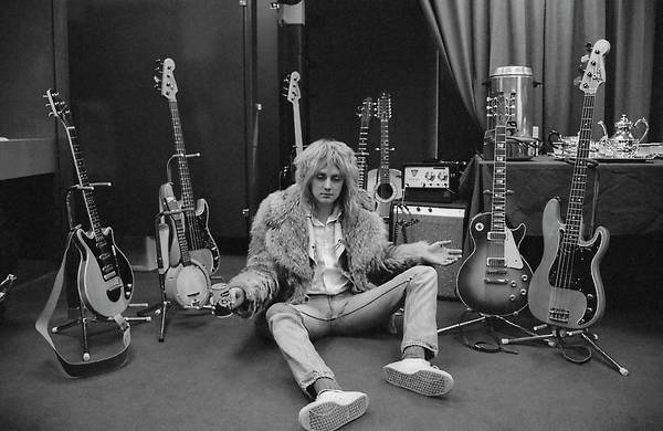 Sitting Photograph - Roger Taylor by Michael Ochs Archives