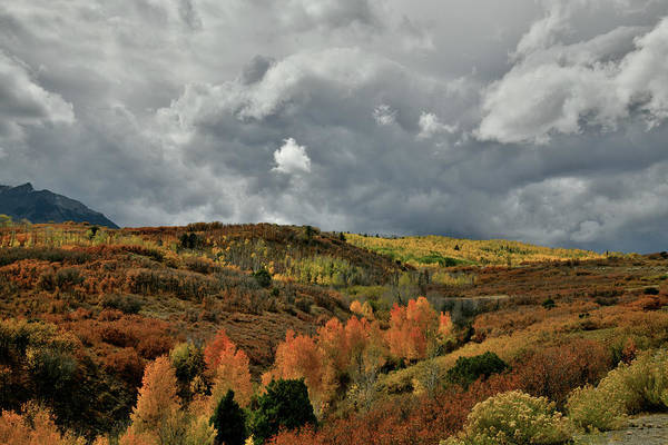 Photograph - Roiling Clouds Over Dallas Divide by Ray Mathis