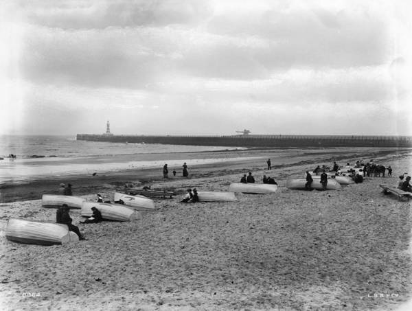 Sunderland Wall Art - Photograph - Roker Pier by London Stereoscopic Company