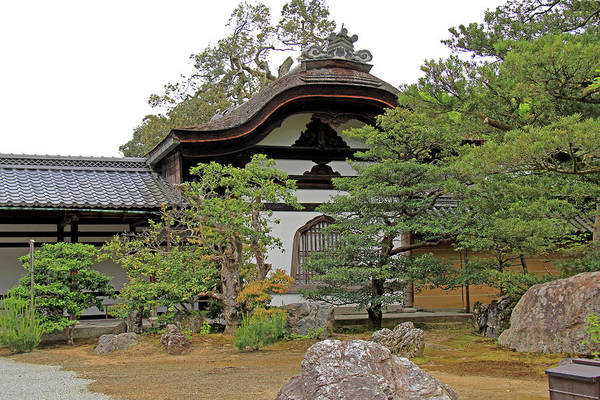 Photograph - Rokuon-ji Temple - Kyoto by Richard Krebs