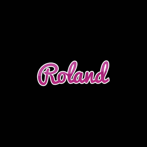 Wall Art - Digital Art - Roland #roland by TintoDesigns