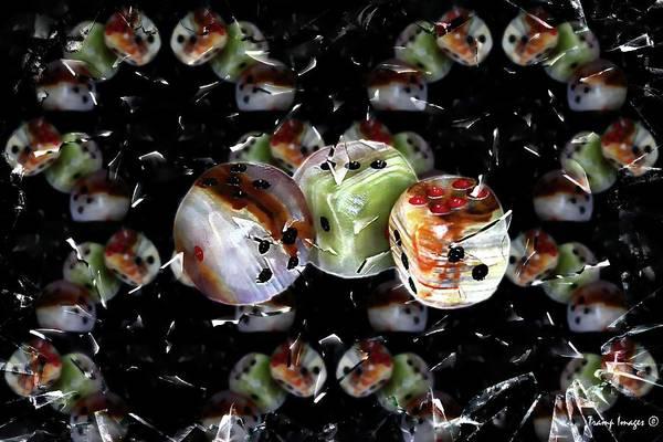 Digital Art - Roll The Bones by Wesley Nesbitt
