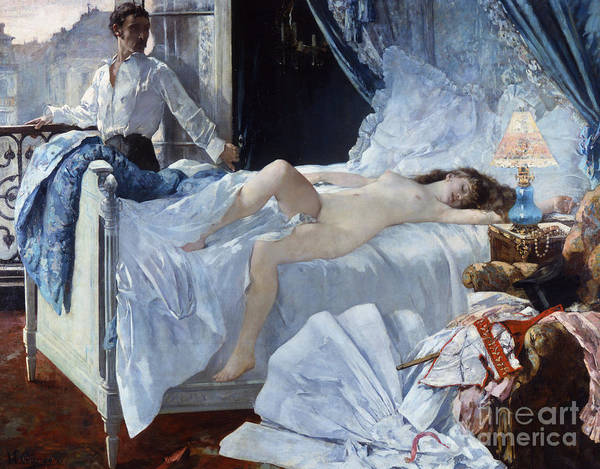 Wall Art - Painting - Rolla, Painting By Henri Gervex by Henri Gervex