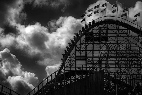 Roller Coaster Of Joy, Tayto Park, Dublin Art Print