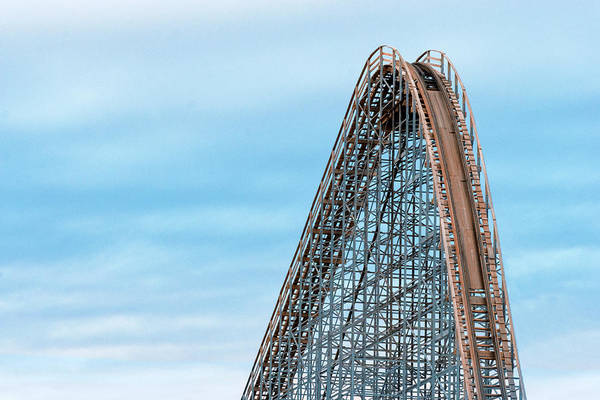 Wall Art - Photograph - Roller Coaster by Todd Klassy