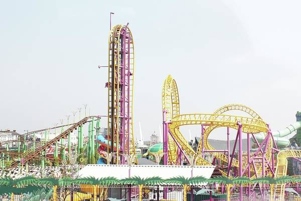 Southend Photograph - Rollercoaster by Thenakedsnail