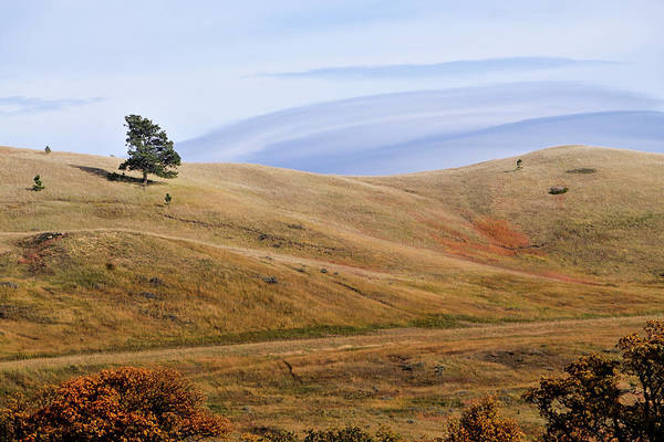 Photograph - Rolling Hills In Wyoming United States Of America by Gerlinde Keating - Galleria GK Keating Associates Inc