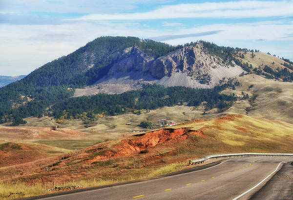 Photograph - Rolling Hills In Wyoming Usa by Gerlinde Keating - Galleria GK Keating Associates Inc